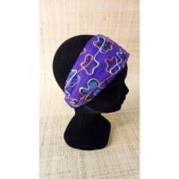 Bandeau cheveux floralia violet