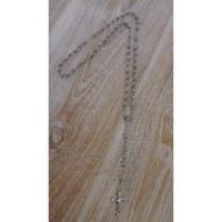 Chapelet en perles de métal