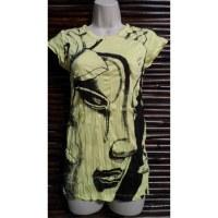 Tee shirt lady la larme de Bouddha jaune