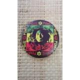 Badge rasta roots 45 Bob Marley
