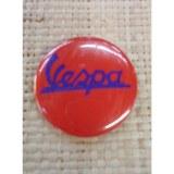 Badge rouge Vespa 45