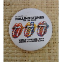 Badge Rolling stones on the road