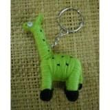Porte clés Gigi la girafe verte