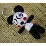 Porte clés Amanda le panda
