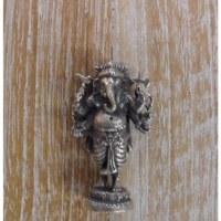 Miniature Ganesh levé gris