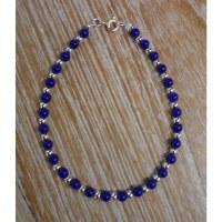 Bracelet perline lapis lazuli