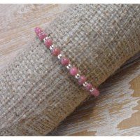 Bracelet perline rose
