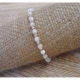 Bracelet  perline blanc