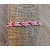 Bracelet macramé rose Lastri