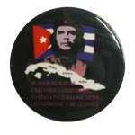 Badge Che Guevara flag