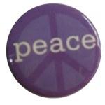 Badge purple peace