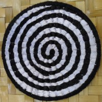 Patch spirale blanche