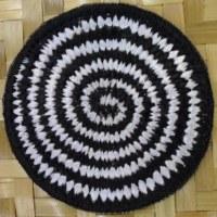 Patch spirale noire