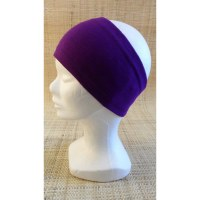 Bandeau unicolore violet