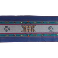 Tenture Pokhara bleu