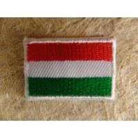 Mini écusson drapeau Hongrie