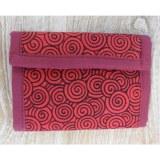 Portefeuille spires rouges/noires