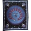Tenture soleil, lune, astrologie