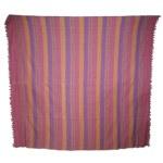 Tenture couverture rose et violet