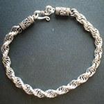 Bracelet en argent Serpentin