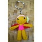 Porte clés pretty angel jaune