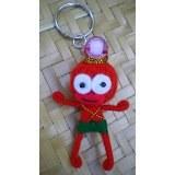 Porte clés Perlita perle rose