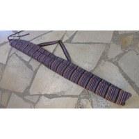 Housse didgeridoo rayée Lumbini 1