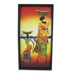 Tableau africain Les porteuses