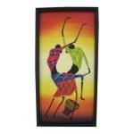 Tableau africain Les danseurs