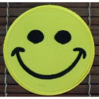 Patch Smiley jaune