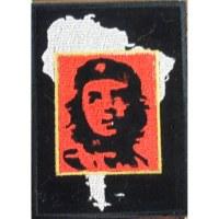 Ecusson Che guevara et Amérique latine