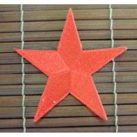 Ecusson étoile rouge