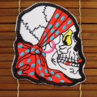 Patch tête de mort pirate