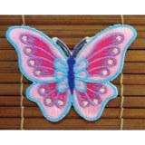 Ecusson papillon paillettes