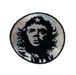 Ecusson Che Guevara (blanc)