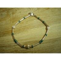 Chaine de cheville perles