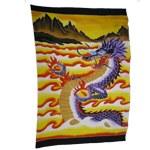 Paréo dragon des mers du sud