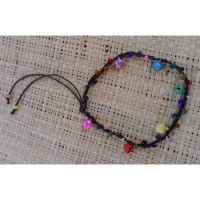 Bracelet de cheville grelots colors