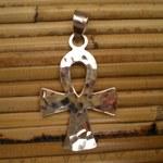 Pendentif arg croix égyptienne