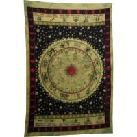 Tenture verte astrologia
