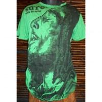 Tee shirt Bob Marley vert