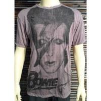 Tee shirt prune David Bowie