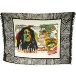 Paréo Bob Marley multicolore