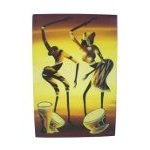 Tableau africain Les musiciens