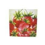 Tableau peint La ronde des fraises