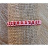 Bracelet macramé rose Nuri