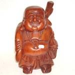 Bouddha rieur debout