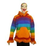 Pull pompon rainbow
