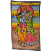Petite tenture Krishna et Radha
