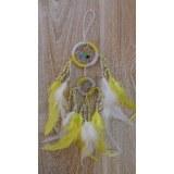 Dreamcatcher  bicolore zia jaune et blanc